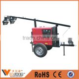 hot sale Outdoor construction diesel generator emergency mobile light tower portable