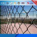 Cheap Price Colored PVC Coating 9 Gauge 6*8cm Galvanized Chain Link Fence Fencing Net( can be used for animal)