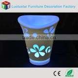 Remote control led ice bucket for beer promotional project