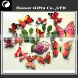 Colorful Butterfly 3D Home Decorative Mirror Wall Sticker