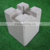 Hot sale concrete foundation outdoor wood blocks