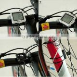 2016 new hot Cycling Bike Bicycle Computer Odometer Speedometer 30 functions Backlight Black 570