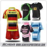 Breathable Sublimation Rugby Jersey,Custom Cheap Rugby uniform