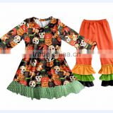 2017 Boya Boutique baby girl Halloween clothing autumn outfit yiwu children clothes