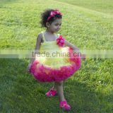Adorable kids tutu dress set newborn baby cute fluffy pettiskirt suit 2014new design petticoat 2 pcs set suit