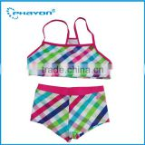 < OEM>Baby Girls swimwear beach wear bathing suit handmade crochet baby bikini