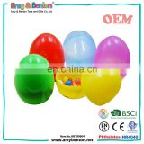 Hot Sale Promotion Plastic Candy Toys Easter Eggs