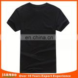 wholesale all size Comfortable black plain cotton t-shirt for men