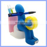 Cute Desk Accessory Tape Dispenser Pen Memo Holder Paper Clip Storage