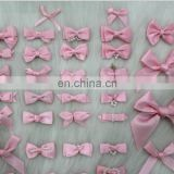 Little rose satin bows for bra