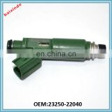 Baixinde brand Fuel Injector Nozzles For Prizm Matrix Corolla OEM 23250-22040 Injector Nozzle