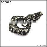 Unique design small metal antique decorative shoe buckle for shoe accessories