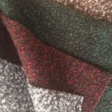 Small circle pile woollen immitation polyester fabric Bi-color