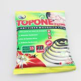 140mm high quality gray paper mosquito coil, good night plant fiber paper mosquito coil