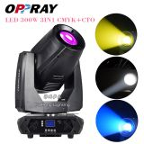 2019 best-selling LED 300W CMYK 3in1  wash beam Moving Head xmas light DMX512 for dj equipment