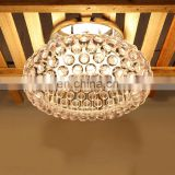 Indoor big round luxury crystal chandelier lighting in dubai