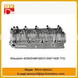 excavator engine parts Mitsubishi 4D56 D4BF(MD313587=908770) cylinder head