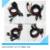 High Quality Auto Xenon Single beam Hid Wire Harness adapter for car lighting fog light wiring harness