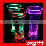 Oxgift 301-400ML Fruit Juice cup LED Flashing Champagne glass cheering cup