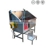 CE marked with qualified and convenient dog steel bath tub