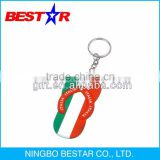 Factory direct supply custom rubber soft pvc keychain