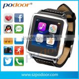 "Mobile phone accessory men wrist watches in china ,MTK 6260, 1.6"" TFT E-ink watch, men wrist watches"