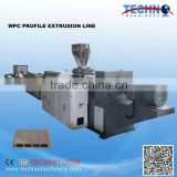 WPC Wood Plastic Composite Profile Extruder Machine for sale