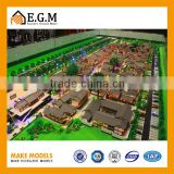 Antique County-style Business Street Scale Model Maker, Construction &real estate model