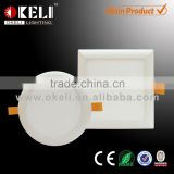 New arrived ultra thin 7.5mm LED recessed light with Patent slim panel and high PF 0.9 driver