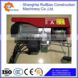 1 ton Motor Trolley Type Electric Chain Hoist with Hook block