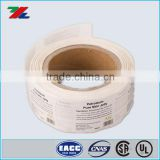 2016 Cheapest Adhesive Label stick on Roll ; Custom Roll Paper label printed Xiamen Xinlisheng Manufacturer
