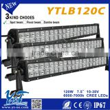 Most brightness 20inch offroad led spot flood combo light bar with led bar stainless steel bracket