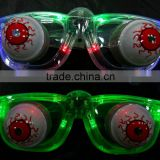 COOL and NEW flashing LED light glasses with eyeball for kids