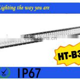big power good reputation !52 inch High Intensity 18750LM 300W LED light bar for car truck common light universal light