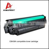 Best sale compatible replacement Toner Cartridge Supplier CB436A Laser Printer Cartridge for HP Printers bulk buy from china