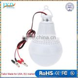 Portable Energy Saving DC 12V 12W Led Bulb Outdoor Camp Tent Night Fishing Hanging White CE Lights Bulb