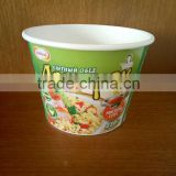 hot soup instant noodle rice disposable insulated Food Use Biodegradable Paper Bowl