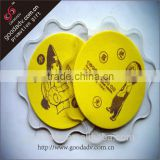2015 guangzhou the new product custom fashion eco-friendly clear acrylic coasters