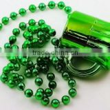Colorful Plastic IRISH FOR A DAY Beer Mug Bead IRISH Necklaces