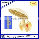 180cm Outdoor Portable Tiki Thatch Beach Sun Umbrella Tilt Parasol