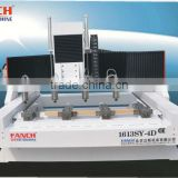 four heads 4 axis cnc router for sofa legs