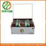 Wedding favor small wholesale tin boxes with bow and tab