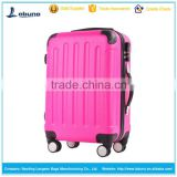 Wholesales factory price aluminium trolley spinner custom designer travel luggage