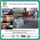 good price high performance ncstudio control 3KW HSD air cooling spindle stepper driving china cnc wood lathe