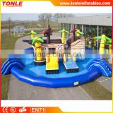 2016 best sale waterpark inflatable medium pirateship/inflatable pirate ship water park for sale