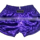 Women Muay Thai Boxing shorts Supplier, Color Purple, Style#001