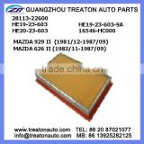 AIR FILTER 28113-22600 HE19-23-603 HE20-23-603 HE19-23-603-9A 16546-HC000 FOR MAZDA 929 II 81-87 626 II 82-87