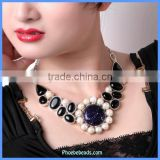 Wholesale Luxury Handmade Gemstone Beads Necklaces For Women GN-N007