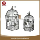 Antirust garden decorative iron hanging bird cage                                                                         Quality Choice