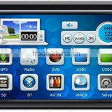 Double din car stereo with GPS DVD USB SD FM HD 1080P with CE ROHS certificates                                                                         Quality Choice